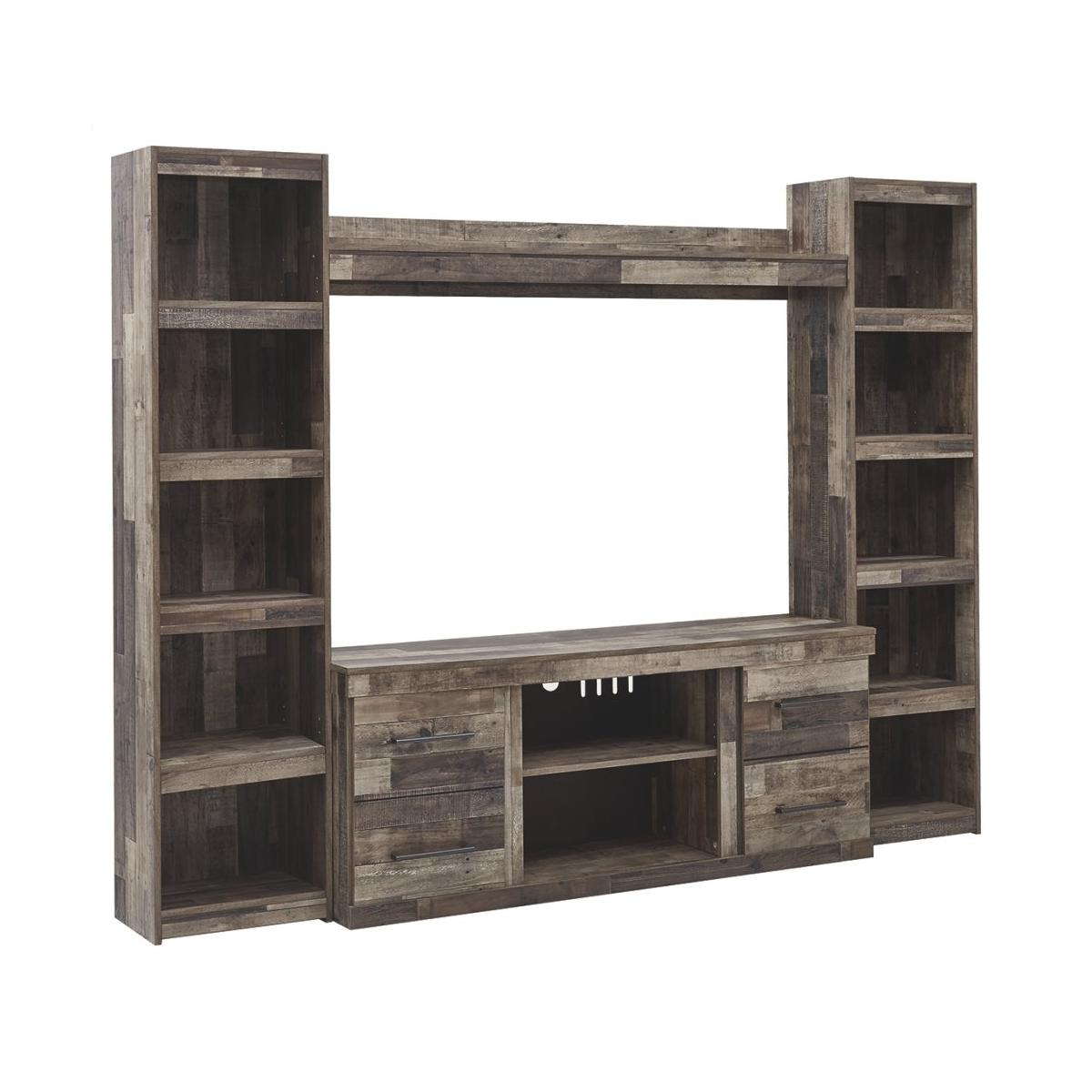 Derekson 4-piece Entertainment Center