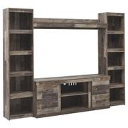 Derekson 4-piece Entertainment Center Product Image