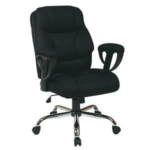 Office Star - Executive Big Mans Chair With Mesh Seat and Back