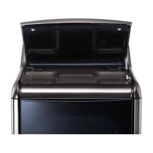 LG - 9.0 cu.ft. Mega Capacity TurboSteam™ Dryer with EasyLoad™ Door