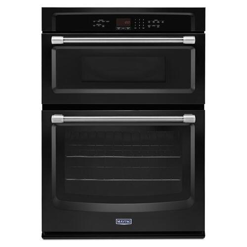 Maytag - Maytag® 30-inch Wide Combination Wall Oven with Precision Cooking System - Black
