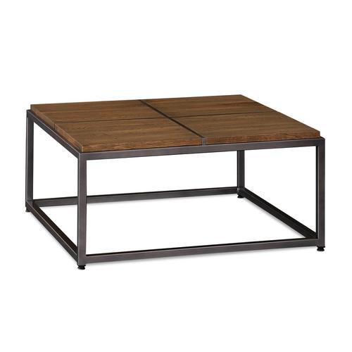 Bassett Furniture - Midtown Oak Small Square Cocktail