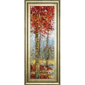"""""""Crimson Woods I"""" By Carmen Dolce Framed Print Wall Art"""