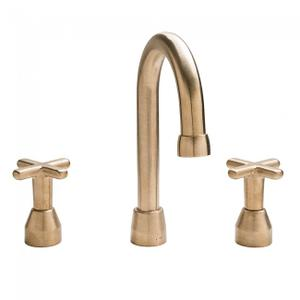 "Lav. Deck Mount Faucet (10 7/16"") Silicon Bronze Brushed Product Image"
