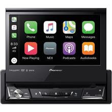 "7"" Single-DIN In-Dash NEX DVD Receiver with Motorized Display, Bluetooth®, Apple CarPlay , Android Auto & SiriusXM® Ready"