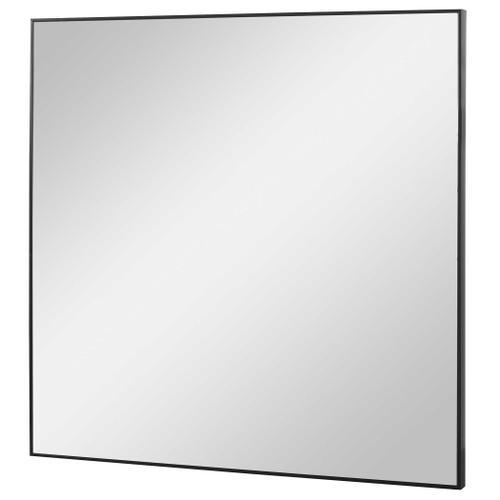 Alexo Black Square Mirror