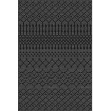 Durable Flat Weave No Shedding Lifestyle 695 Area Rug by Rug Factory Plus - 2' x 3' / Gray