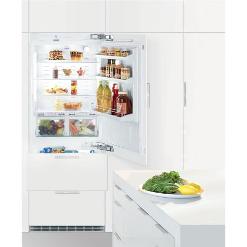 "30"" RH Integrated Bottom Mount Refrig/Freezer BIOFRESH Large Door"