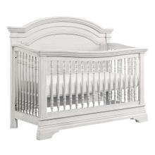 Product Image - Olivia Arch Top Convertible Crib  Brushed White Brushed White