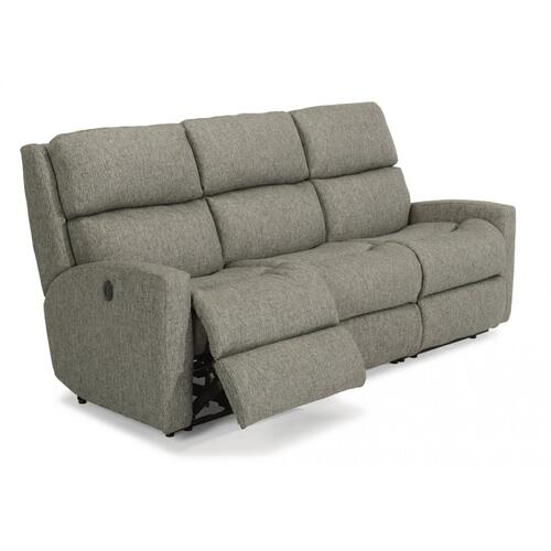 - California Fabric Power Reclining Sofa