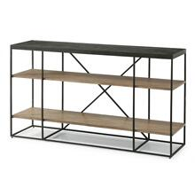 Carmen Sofa Table with Shelving