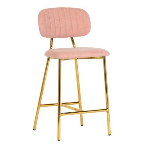 Tov Furniture - Ariana Blush Counter Stool (Set of 2)