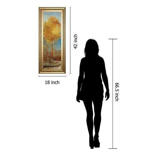 """Ginkgo Tree I"" By Asia Jensen Framed Print Wall Art"