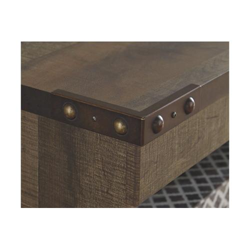Trinell LG TV Stand Brown