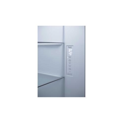 LG - 27 cu. ft. Side-By-Side Door-in-Door® Refrigerator with Craft Ice™