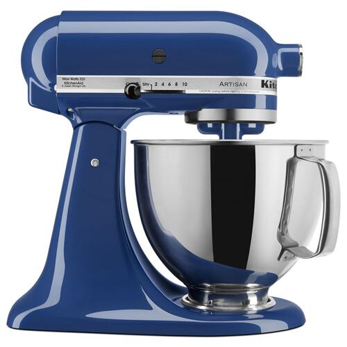 Artisan® Series 5 Quart Tilt-Head Stand Mixer - Blue Willow