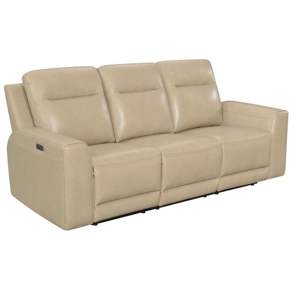 Doncella Dual-Power Recliner Sofa