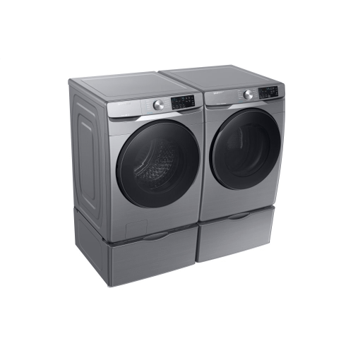 5.2 cu. ft. Front Load Washer with Steam in Platinum