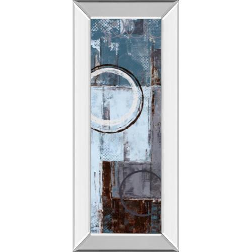 "Classy Art - ""Cool Dance I"" By Maria Donovan Mirror Framed Print Wall Art"