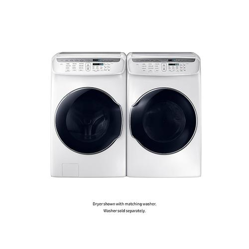 7.5 cu. ft. Smart Electric Dryer with FlexDry™ in White