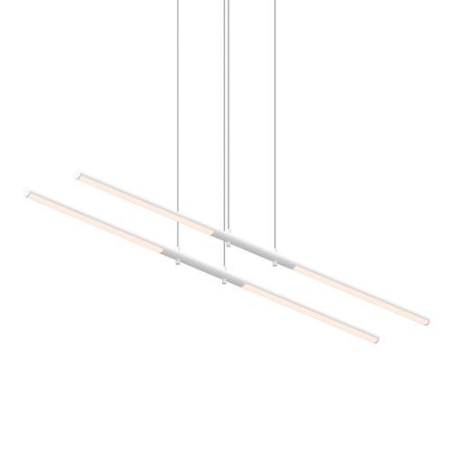 Sonneman - A Way of Light - Tik-Tak® LED Pendant [Size=Tandem, Color/Finish=Satin White]