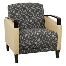 Main Street 2-tone Custom Fabric Chair