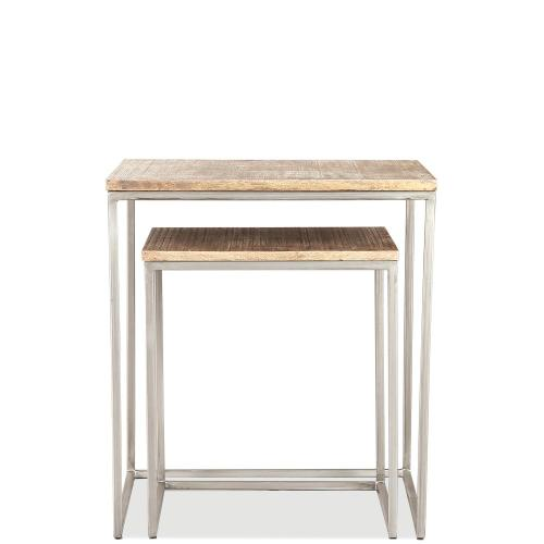 Nesting Side Table - Brindled Fawn Finish