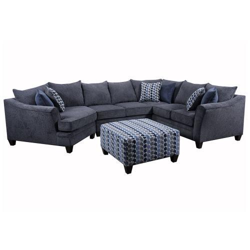 6485 Right Arm Facing Bump Sofa