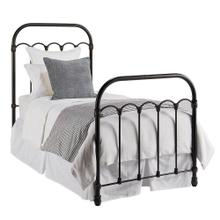 Blackened Bronze Colonnade Metal Full Bed