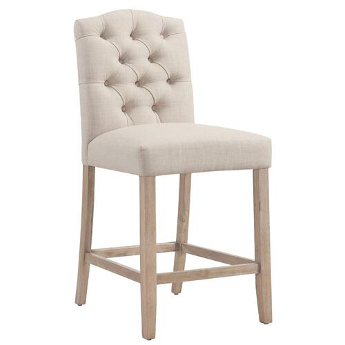 Lucian 26'' Counter Stool, set of 2 in Beige