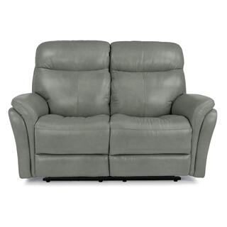 Zoey Power Reclining Loveseat with Power Headrests