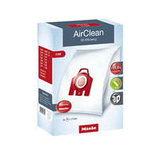 AirClean 3D Efficiency FJM dustbags ensures that dust picked up stays inside the machine.