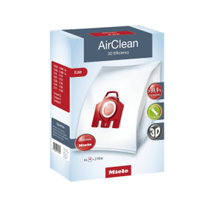 MieleDustbag FJM AirClean 3D - AirClean 3D Efficiency FJM dustbags ensures that dust picked up stays inside the machine.