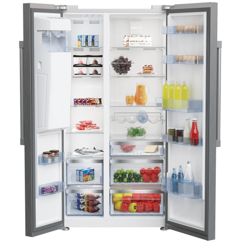 "36"" Freestanding Side-by-Side Refrigerator"
