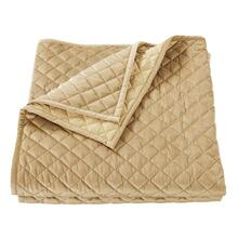 See Details - Velvet Diamond Quilts, 6 Colors - Full/queen / Gold