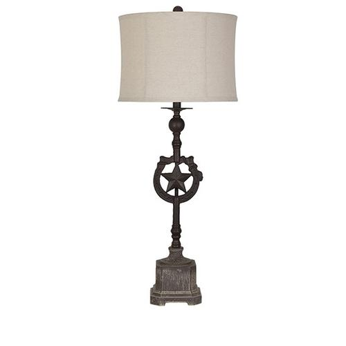 Texas Star Table Lamp