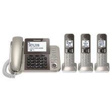 See Details - DECT 6.0 Corded/Cordless Phone System with Caller ID & Answering System (3 Handsets)