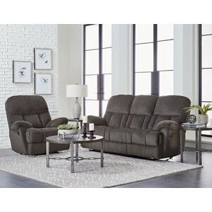 Harmon Manual Motion Reclining Sofa, Grey