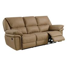 Allyn Power Reclining Sofa, Desert Sand U7127-18-15