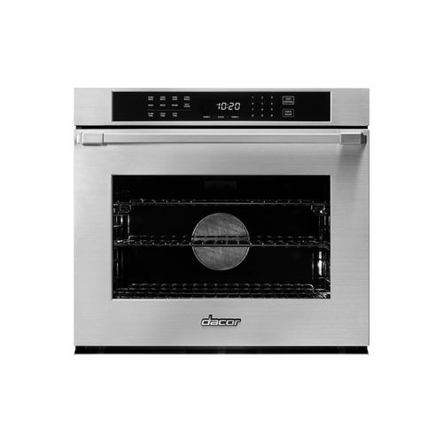 "30"" Single Wall Oven, DacorMatch, with Pro Style Handle (End Caps in stainless steel)"