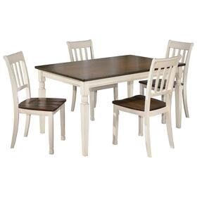 Whitesburg Dining Table and 4 Chairs