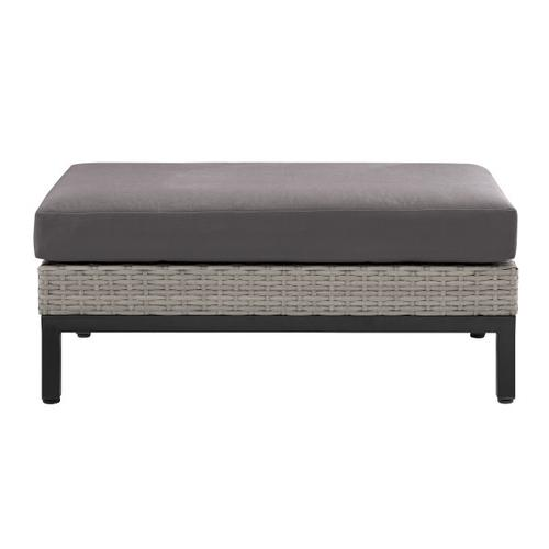 Metal Leg Wicker Finish Outdoor Set in Driftwood Gray (Component 3 of 3)