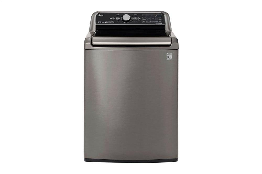 LG Appliances5.5 Cu.Ft. Smart Wi-Fi Enabled Top Load Washer With Turbowash3d(tm) Technology