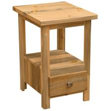 Cubby Nightstand