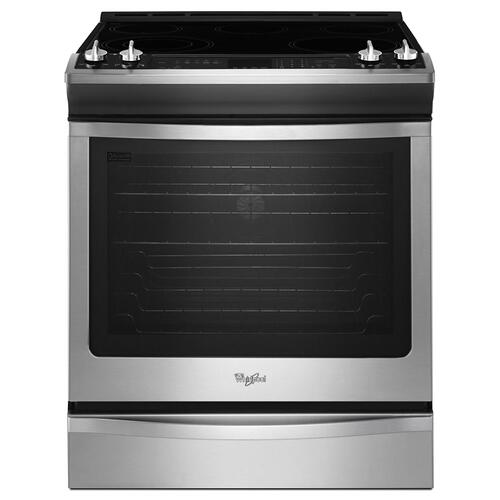 Gallery - 6.2 cu. ft. Front-Control Electric Stove with Fan Convection
