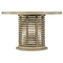 Surfrider 48in Rattan Round Dining Table