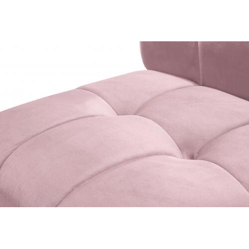"Limitless Modular Velvet 5pc. Sectional - 145"" W x 55"" D x 31"" H"