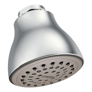 "Moen chrome one-function 2-1/2"" diameter spray head standard Product Image"