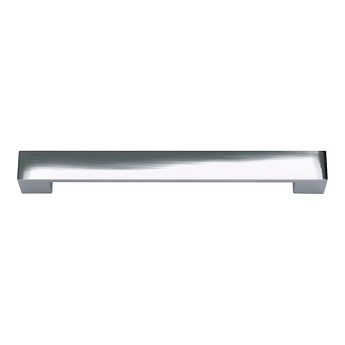 Wide Square Pull 7 9/16 Inch (c-c) - Polished Chrome