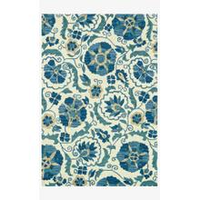 View Product - MF-10 Ivory / Blue Rug